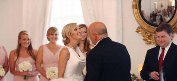 ceremony smiling